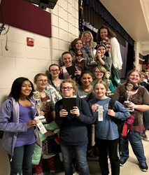 Middle School Power of the Pen Team Earns Impressive Accolades at District Competition