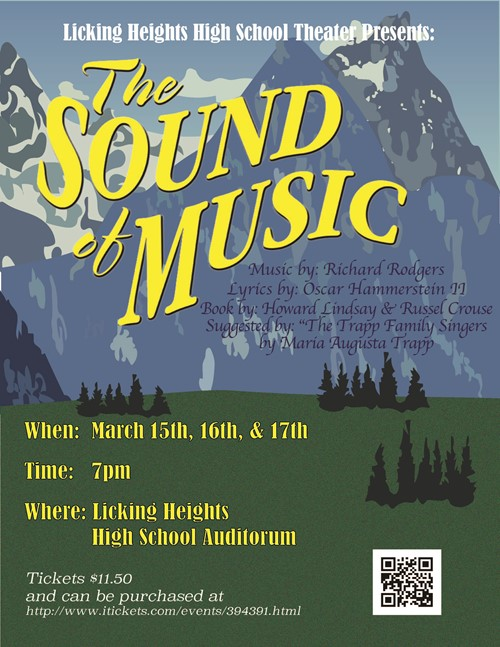 LHHS The Sound of Music poster