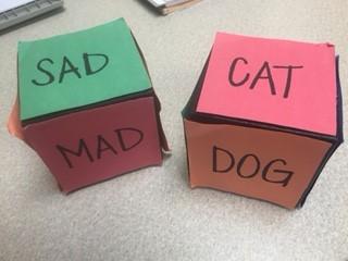Kindergarten Feelings Dice