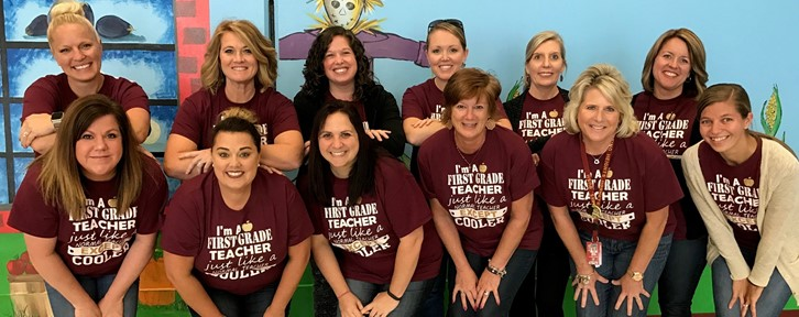 District first grade teachers