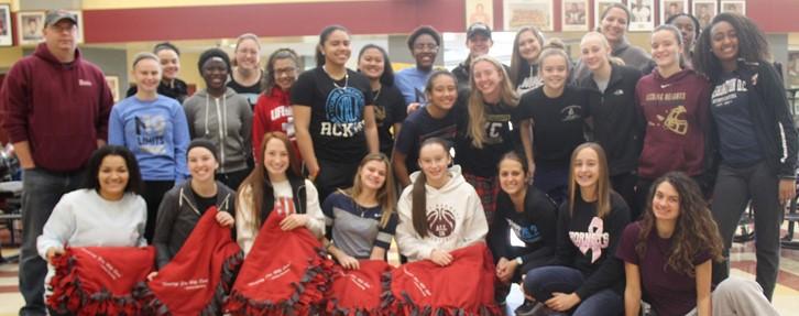 LHHS basketball team