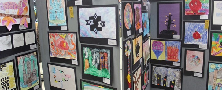 All-district art show