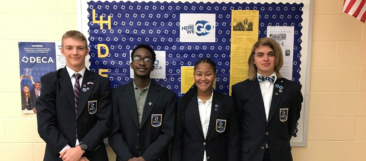 DECA officers