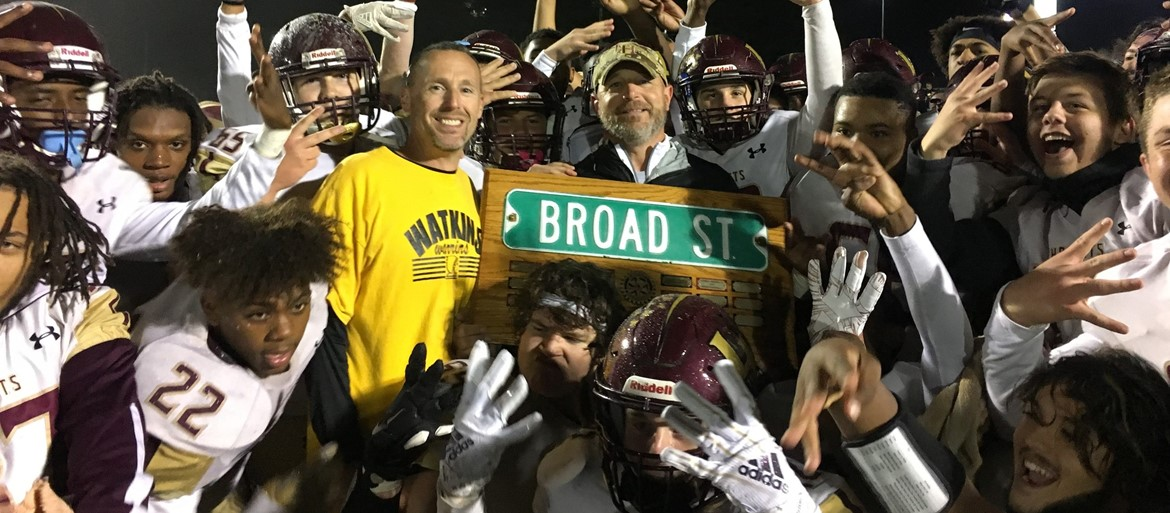 Battle for Broad Street champions!