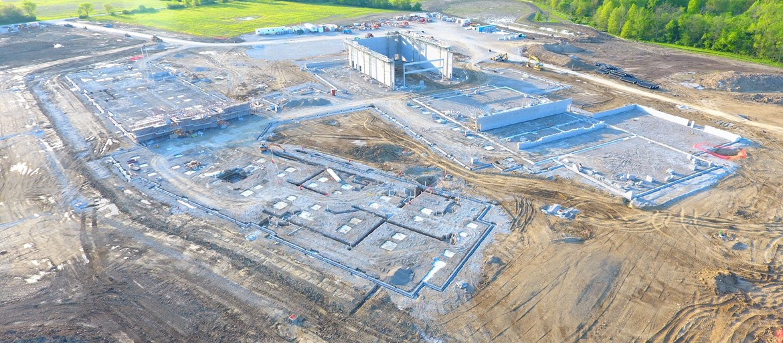 HS building site